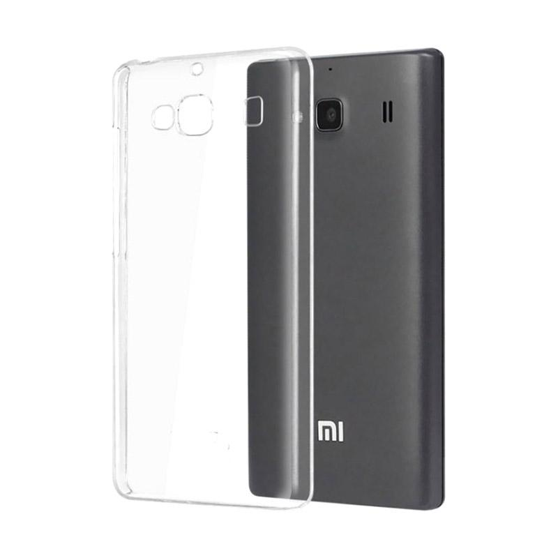 OEM Ultrathin Jelly Softcase Casing for Xiaomi Redmi 2 - Clear