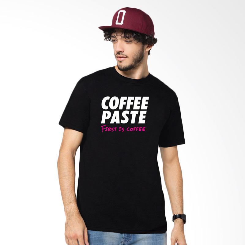 Artcology Coffee Paste First Is Coffee T-shirt - Black Extra diskon 7% setiap hari Extra diskon 5% setiap hari Citibank – lebih hemat 10%