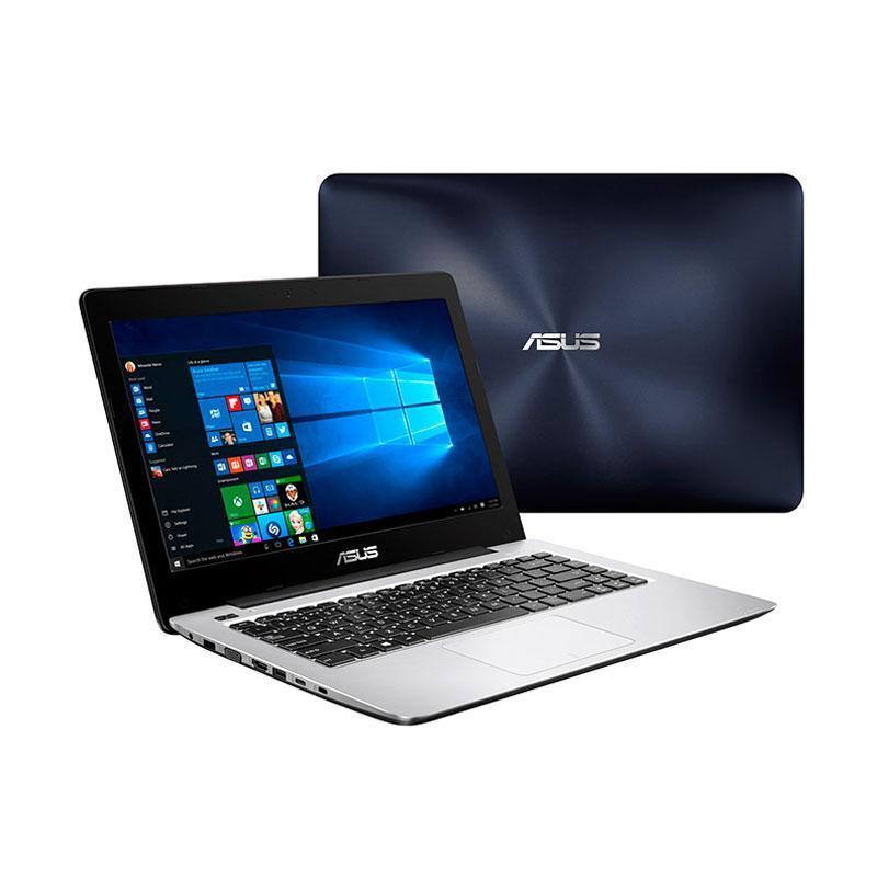 """Asus A456UQ-FA075D Notebook - Dark Blue [Intel Core i7-7500U/ Nvidia GT940MX-2GB/ 8GB/ 1TB/ 14""""/ DOS]"""