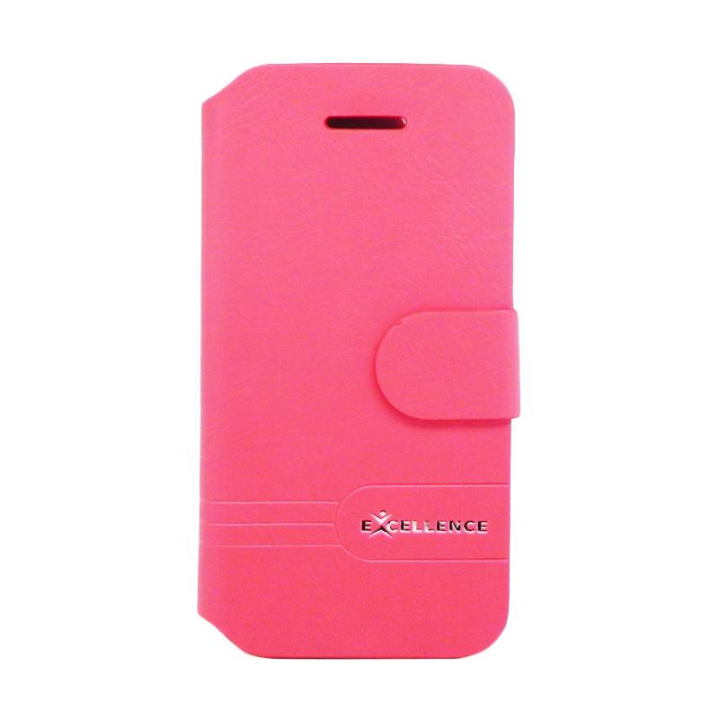 Excellence Dragonite Flip Cover Casing for iPhone 5 - Red