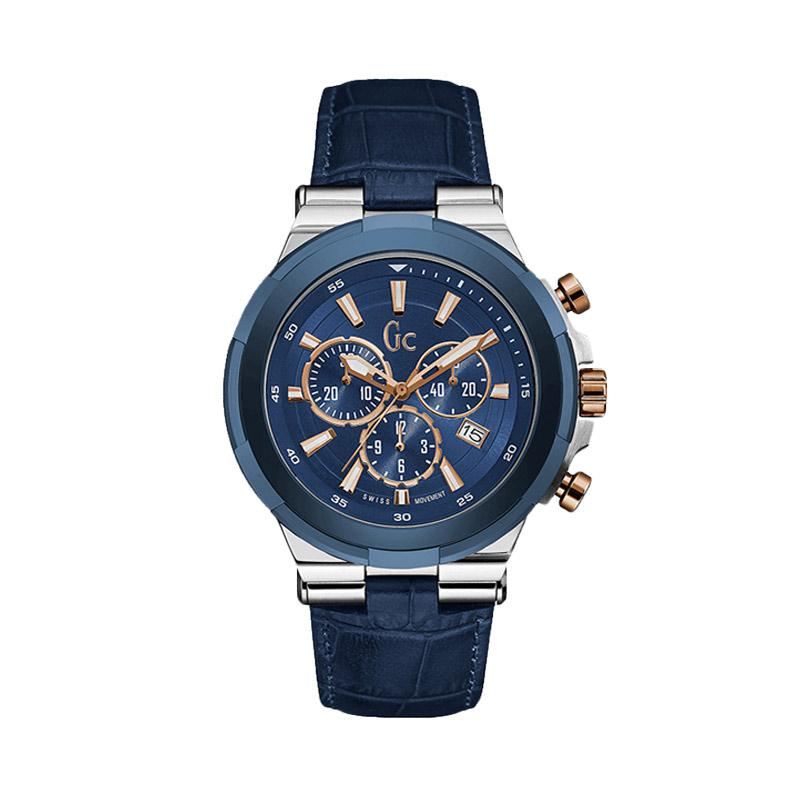 Guess Collection Y23010G7 Jam Tangan Pria - Silver