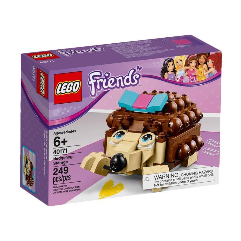 LEGO Friends 40171 Buildable Hedgehog Storage Mainan Blok & Puzzle