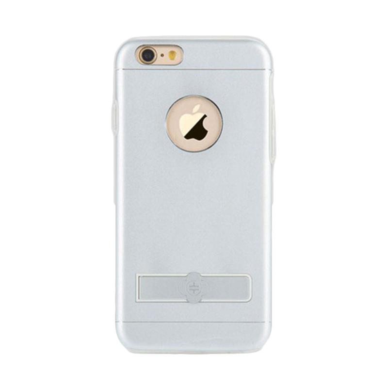Totu Jaeger 2 Plus Holder Casing for iPhone 6 or 6S - Silver