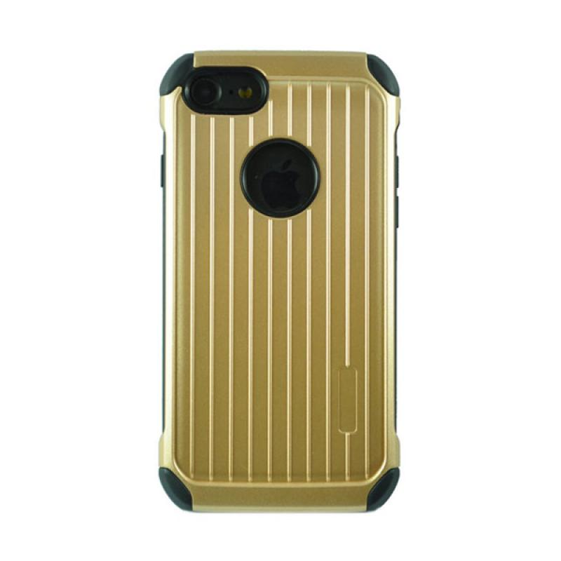 Tunedesign PyShell Luggage Casing for iPhone 7 - Gold