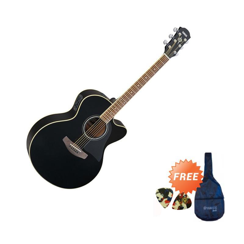 harga Yamaha CPX 500II Gitar Akustik Elektrik - Hitam + Free Softcase dan 2 Pick Blibli.com