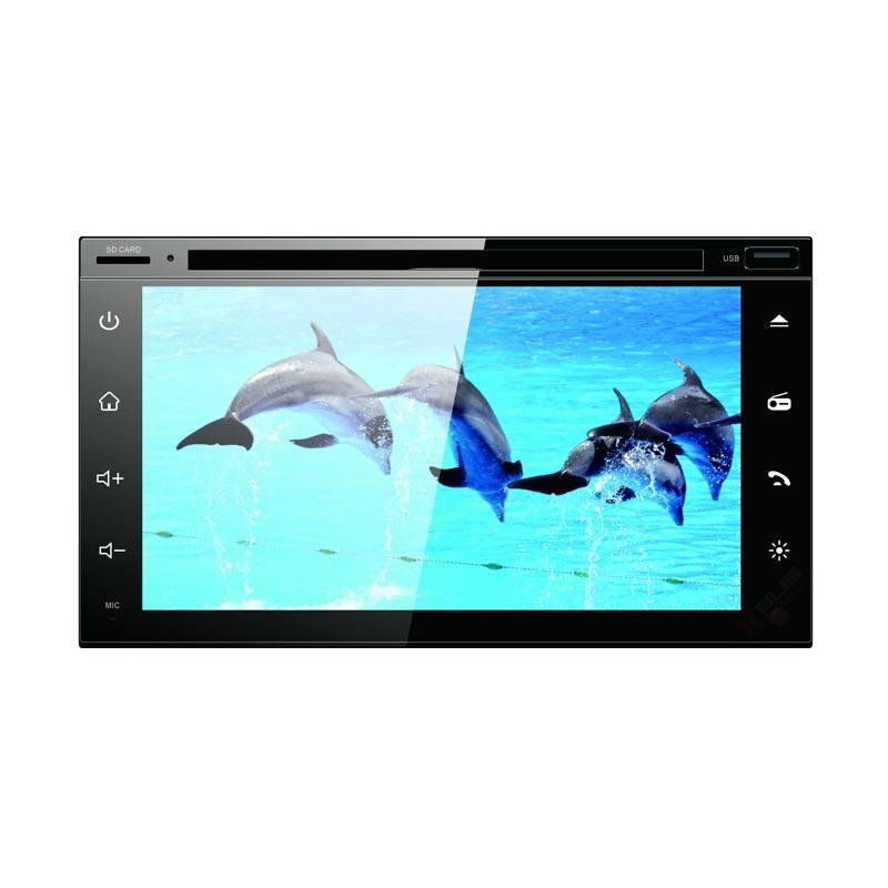 Asuka Ak-7065 6.95 Inch DVD HD Full Capacitive Touch Screen Headunit