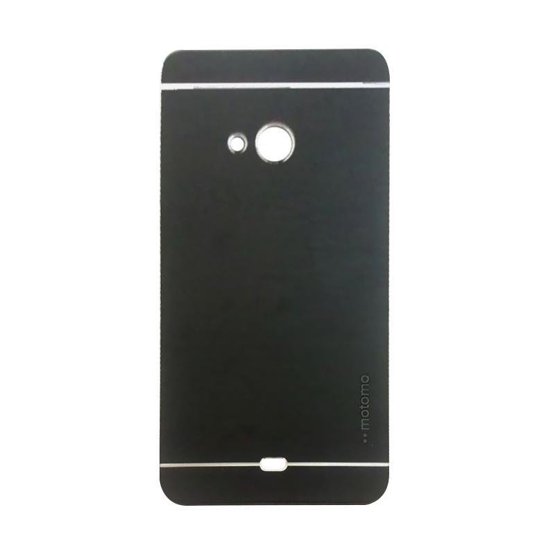 Motomo Metal Hardcase Casing for Microsoft Lumia 540 - Black