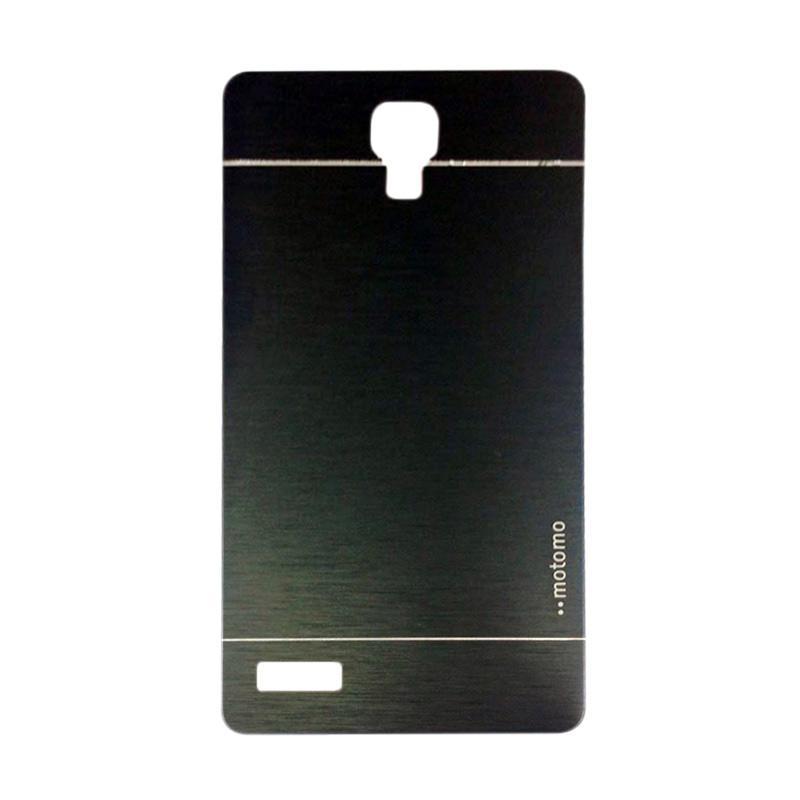Motomo Metal Hardcase Casing for Xiaomi Redmi Note - Black
