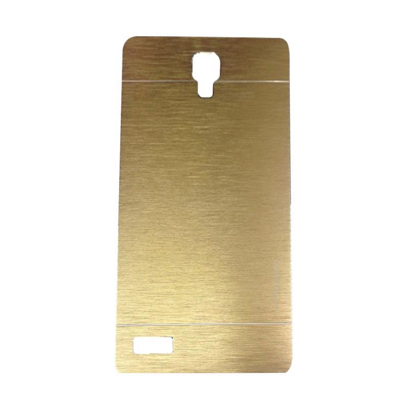 Motomo Metal Hardcase Casing for Xiaomi Redmi Note - Gold
