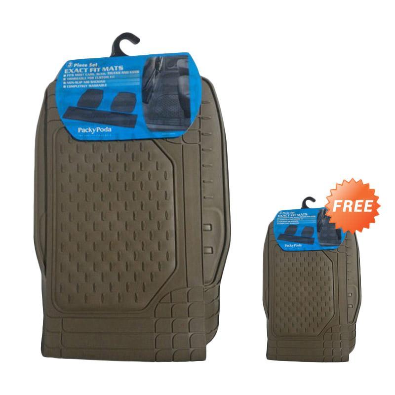 Buy 1 Get 1 Packy Poda Exact Fit KPT 9333 - BG Karpet Mobil - Beige