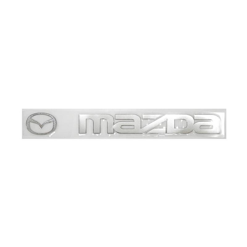 SIV Sticker Logo dan Tulisan Mazda Aksesoris Body Mobil