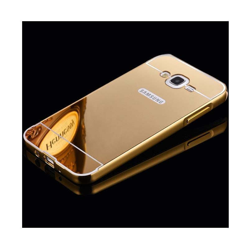 Jual OEM Bumper Metal Sliding Backcase Casing for Samsung J710 J7 2016 - Gold Online - Harga & Kualitas Terjamin | Blibli.com