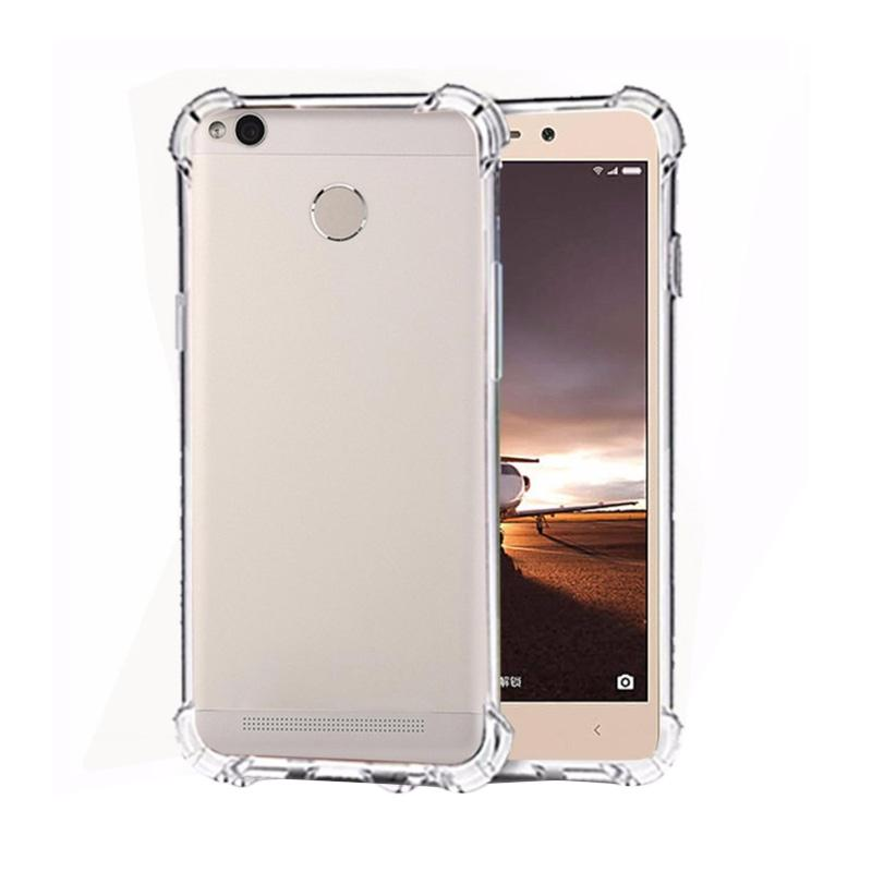Anti Crack and Anti Shock Casing for Xiaomi Redmi 3 Pro or 3s - Clear