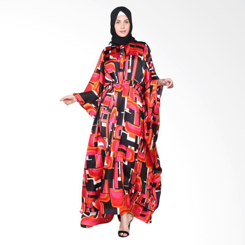 Rauza Rauza Vega Abaya Dress Muslim - Multicolor