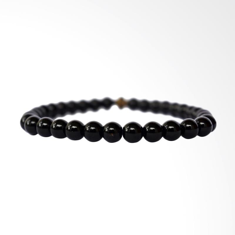 harga Riza Craft Batu Black Onyx Alam Asli Natural Gelang Tasbih [33 Butir] Blibli.com