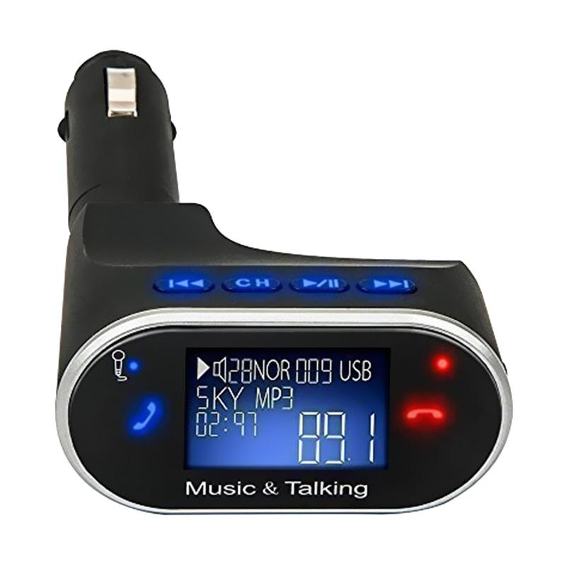 Grosirunik99 BT630 Kit Car Bluetooth Handsfree MP3