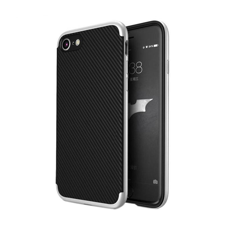 Likgus Tough Shield Carbon Hybrid Casing for Iphone 7 - Dark Grey