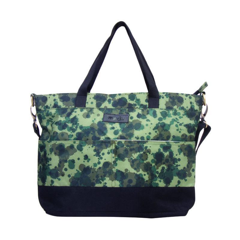 Maxie BTO.42 Slpash Pattern Tote Bag Sling Tas Wanita - Green