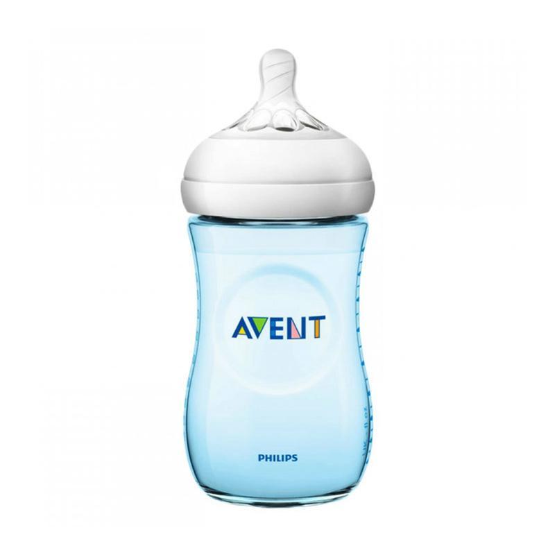 Philips Avent Natural 2.0 SCF695-13 Baby Bottle - Blue [260 mL]