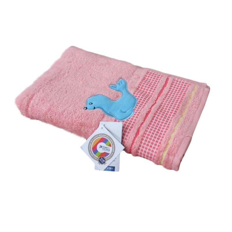 Terry Palmer Concept Handuk Mandi Anak - Pink [70 x 135 cm]