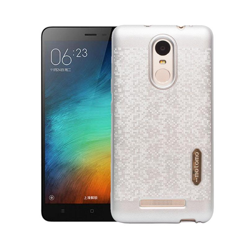 Motomo Softcase Casing for Xiaomi Redmi Note 3 - Silver