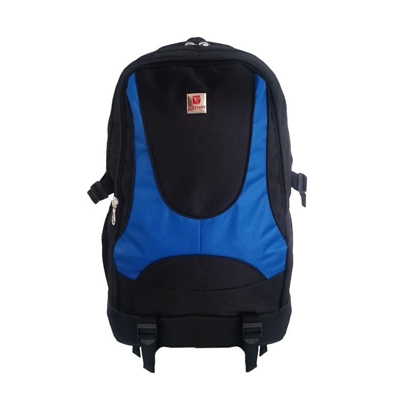 Polo Adventure Laptop Backpack with Raincover - Biru