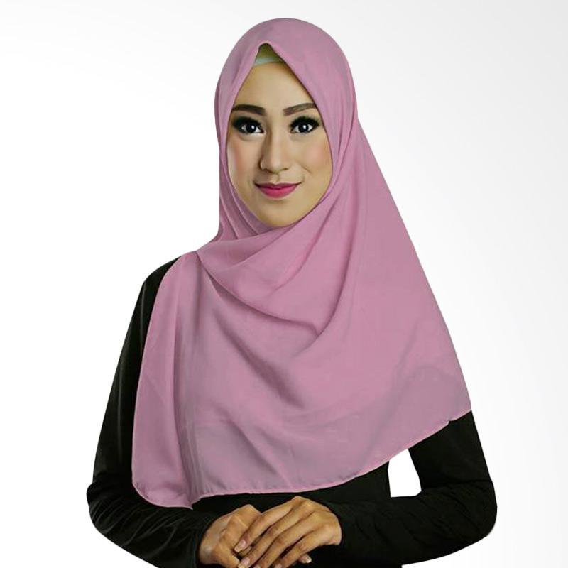 ... Khimar Instan Ayse Twoface Red Hijab Instan Jilbab Instan Hijab Source Ruman Hijab