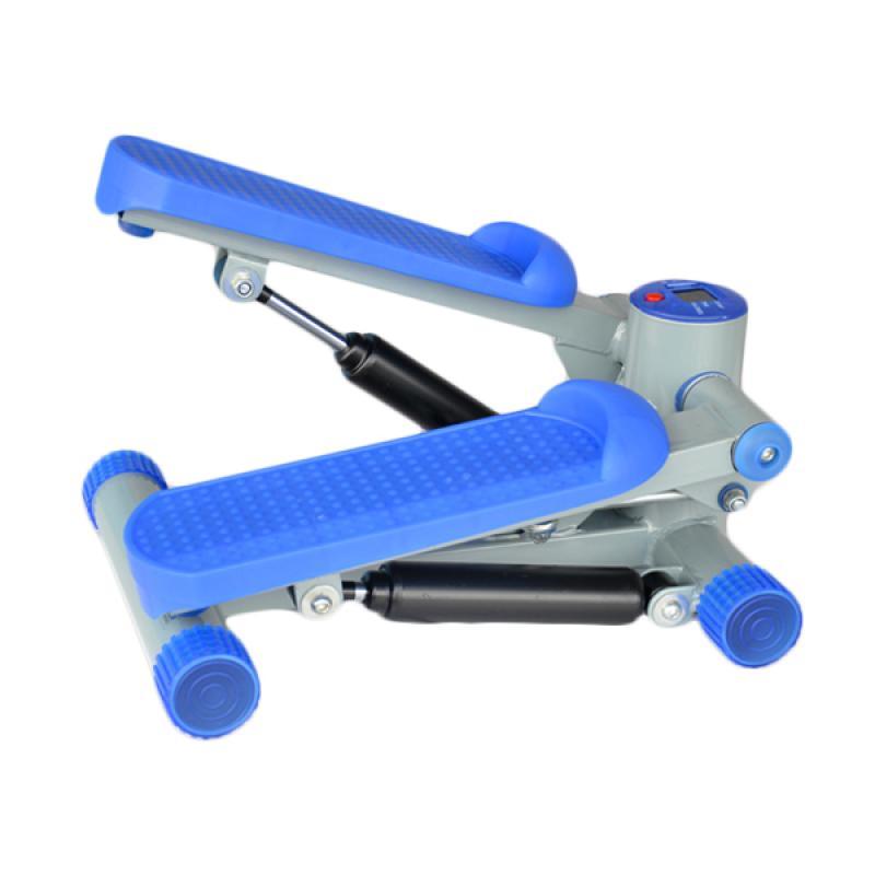 harga Celebrity Fitness Mini Stepper Air Climber - Blue Blibli.com
