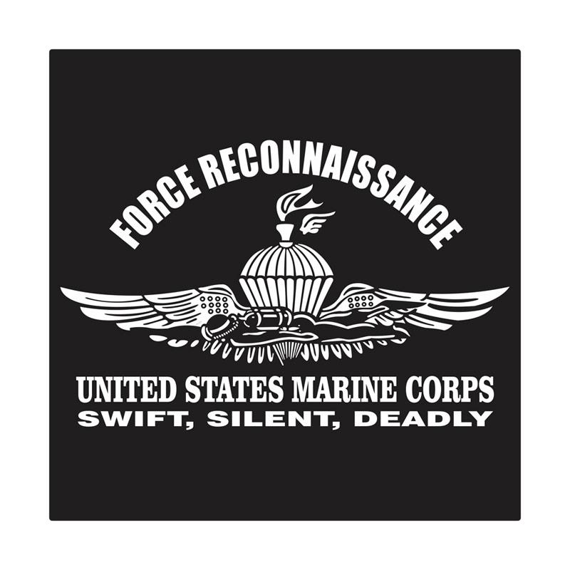Kyle United States Marine Corps Force Recon Cutting Sticker