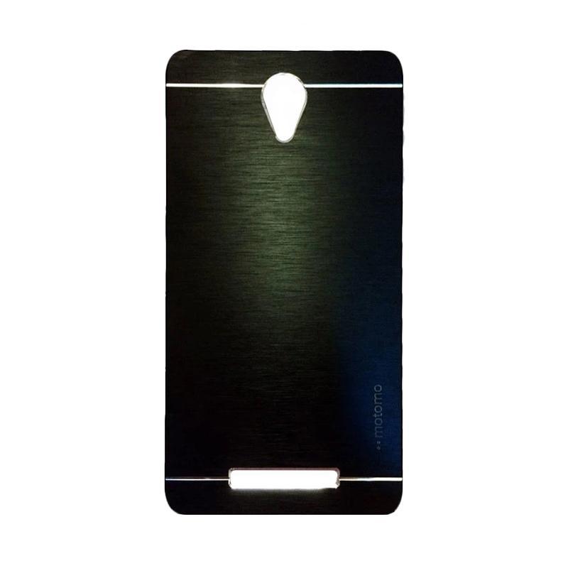 Motomo Metal Hardcase Casing for Xiaomi Redmi Note 2 - Black