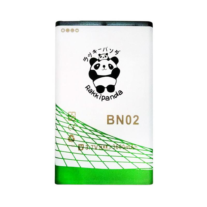 RAKKIPANDA BN-02 Double Power and IC Battery for Nokia [3600 mAh]