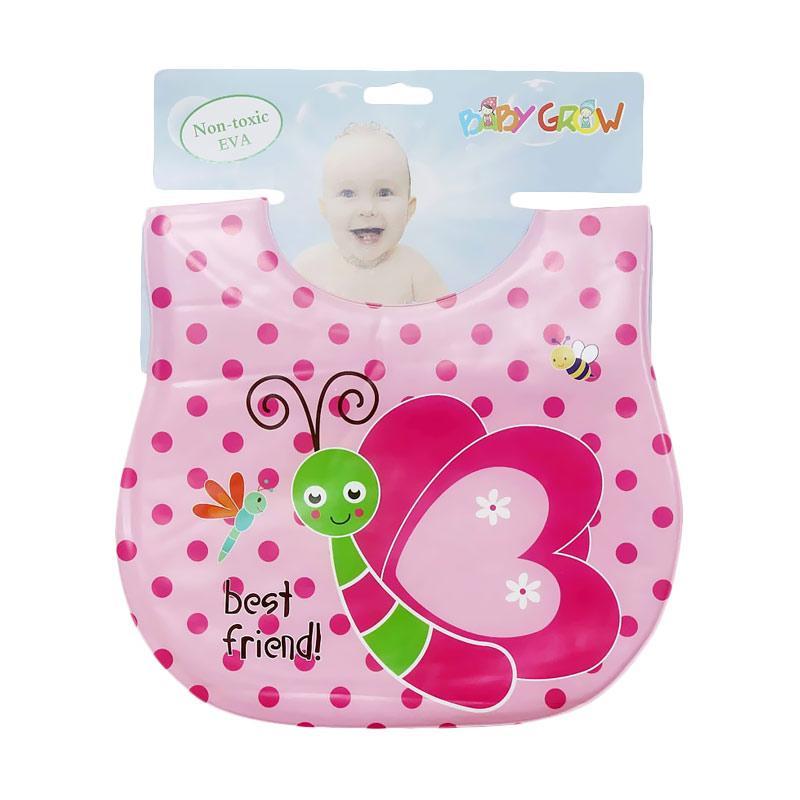 Chloebaby Shop S206 Bib Plastik Best Friend BabyGrow Celemek Bayi