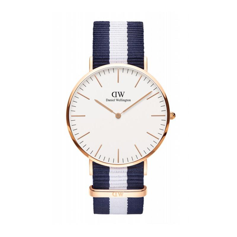 Daniel Wellington Men Classic Glasgow Rose Gold