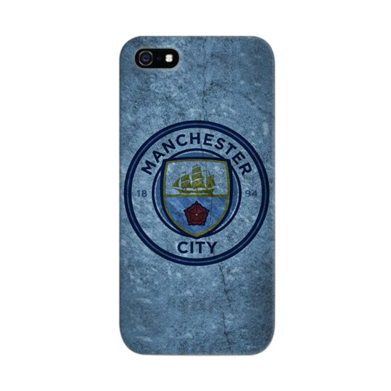 Indocustomcase Manchester New Logo Cover Casing for iPhone 5/5S/SE