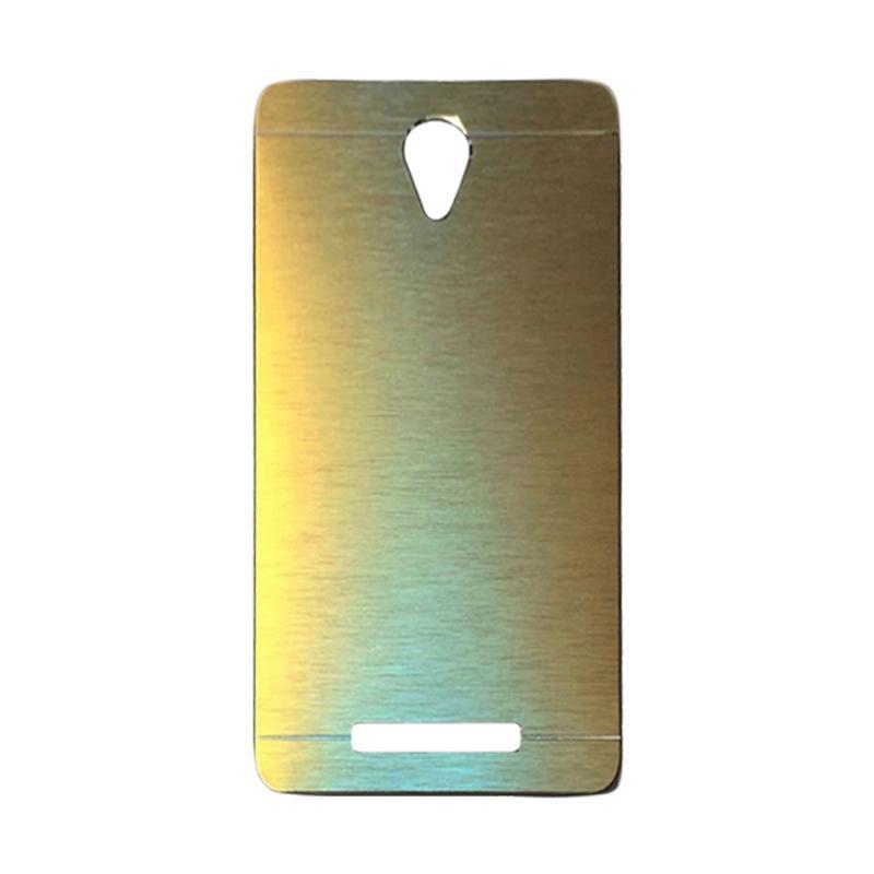 Motomo Metal Hardcase Casing for Xiaomi Redmi Note 2 - Gold