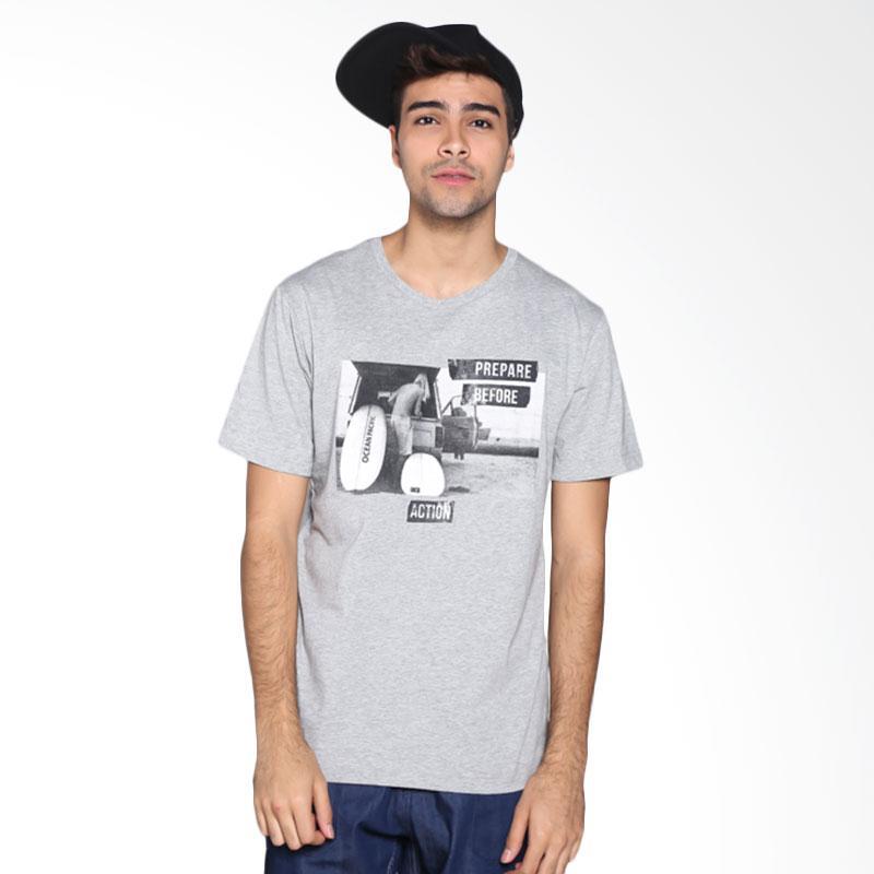 Ocean Pacific Fashion 03MTF89835 Mens T-Shirt - Misty Grey Extra diskon 7% setiap hari Extra diskon 5% setiap hari Citibank – lebih hemat 10%
