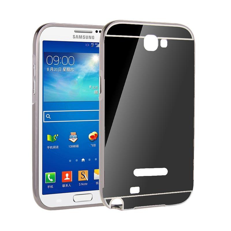 OEM Backcase Mirror Sliding Bumper Casing for Samsung J5 Prime - Black