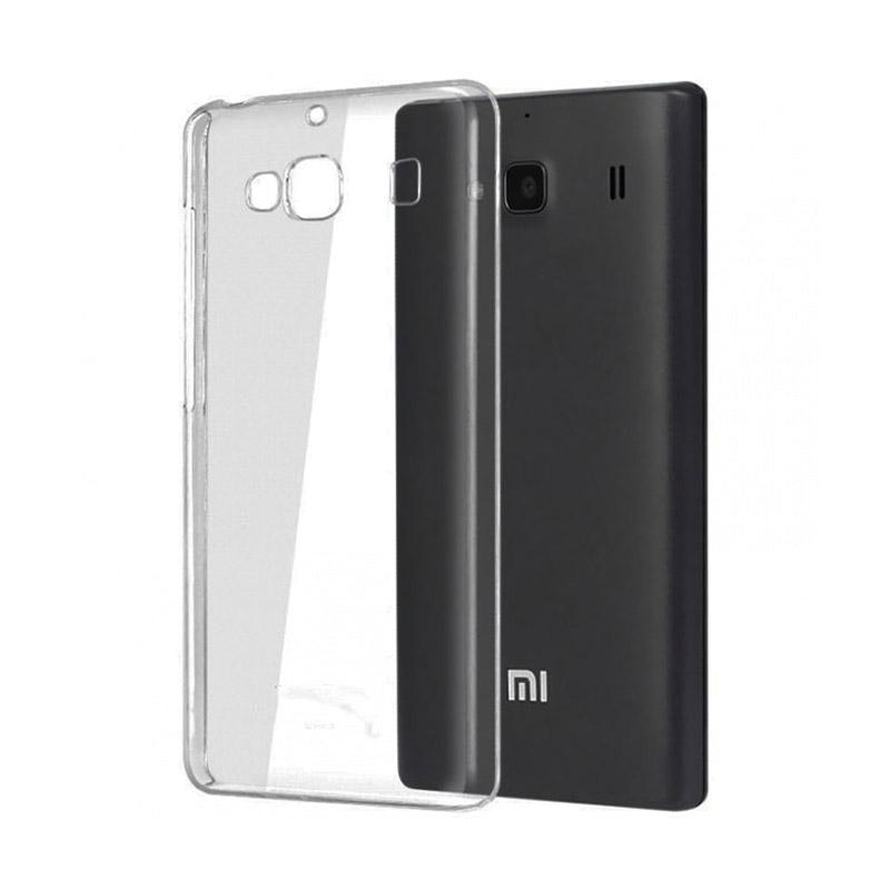 OEM Ultrathin Jelly Softcase Casing for Xiaomi Redmi 2 - Grey