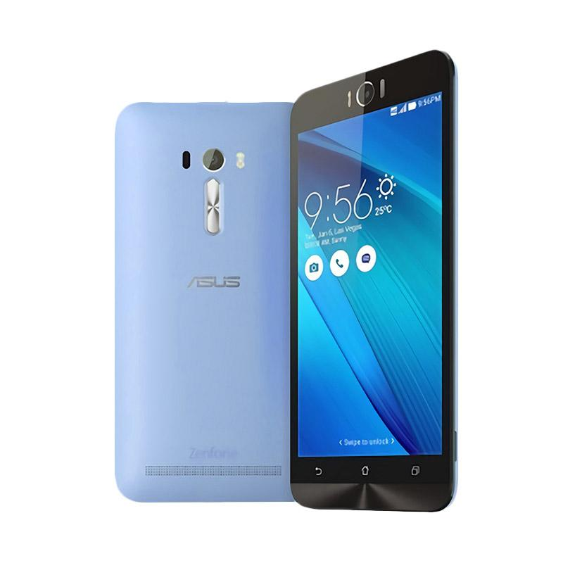 Aircase Ultrathin for Zenfone Selfie 2D551KL - Blue Clear