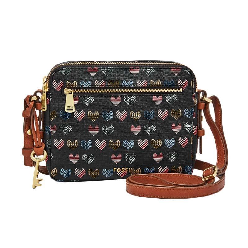 Fossil Hearts ZB 7176745 Piper Toaster Sling Bag Wanita