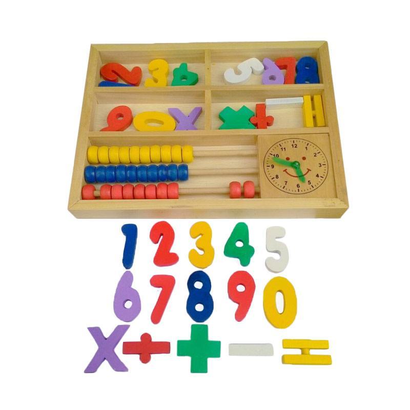 Istana Bintang Sempoa Angka Matematika Mainan Anak