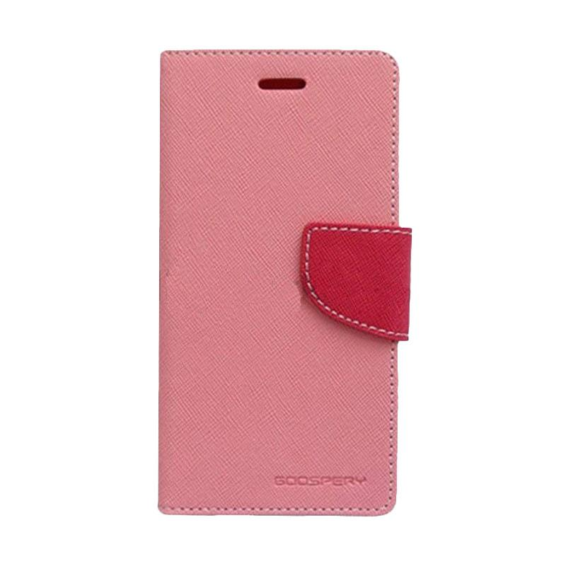 Mercury Fancy Diary Casing for Xiaomi Mi4 - Pink Magenta
