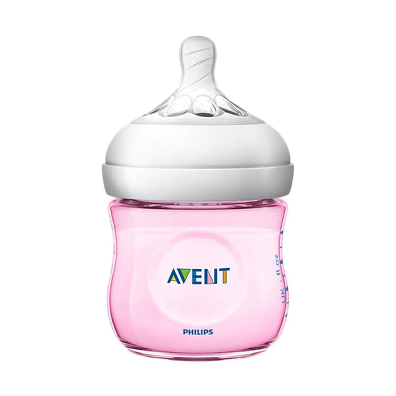 Philips Avent SCF691-13 Natural 2.0 Baby Bottle - Pink [125 mL]