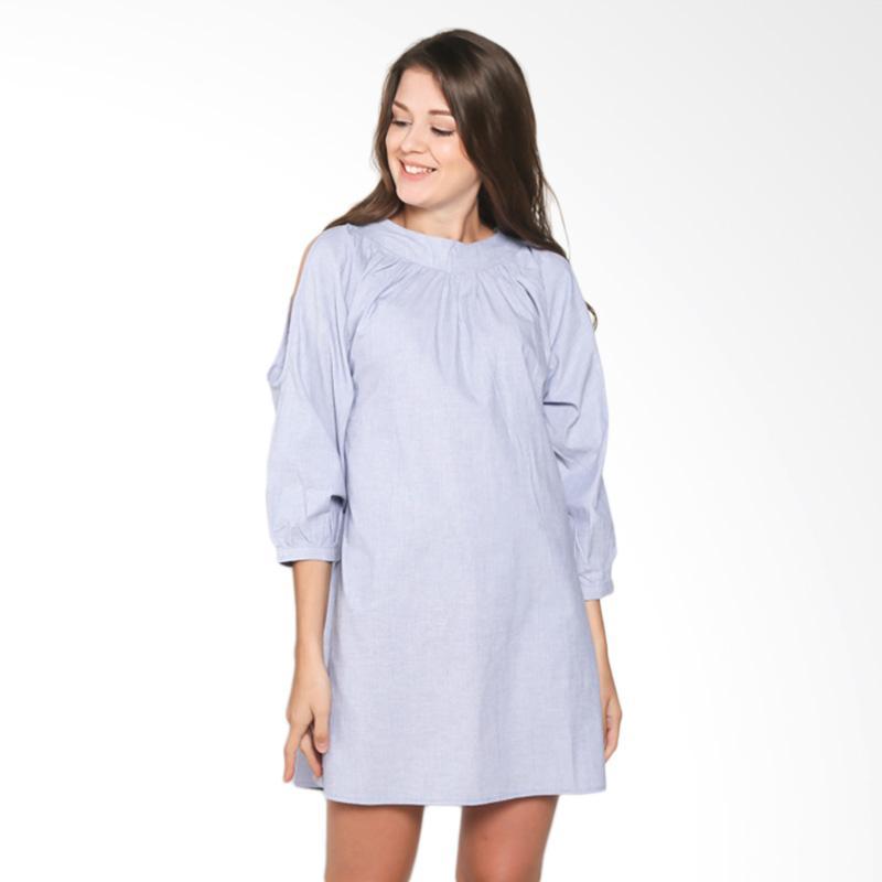 Rodeo Ladies Blouse Shirt Polos 217-0102-2NV Atasan Wanita - Navy