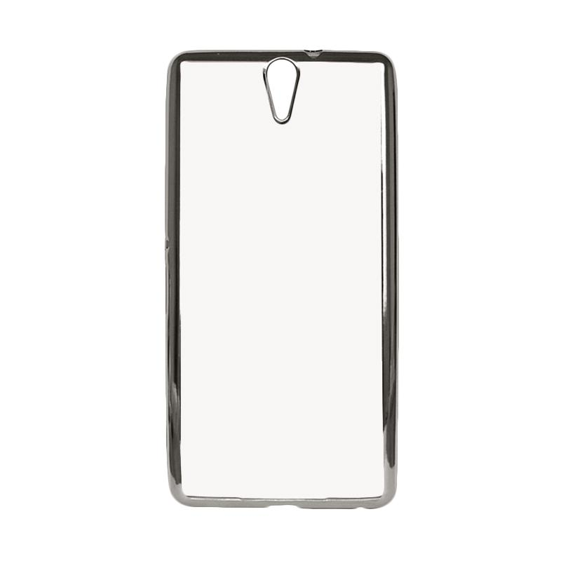 IPHORIA Ultrathin Shining Casing for Xperia C5 - Silver
