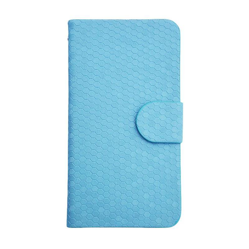 OEM Case Glitz Cover Casing for Microsoft Nokia Lumia 550 - Biru