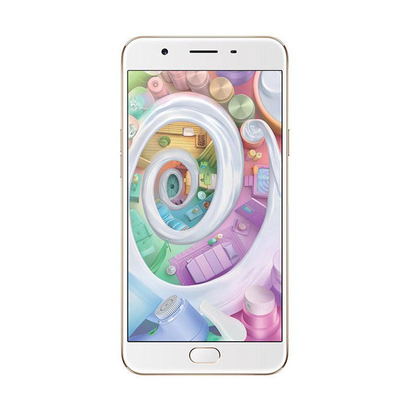 OPPO F1s New Plus Revolution Smartphone - Gold [64 GB/4 GB RAM]