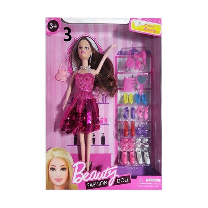 harga Toys Empire 2128 Beauty Fashion Doll Mainan Anak - Pink Blibli.com