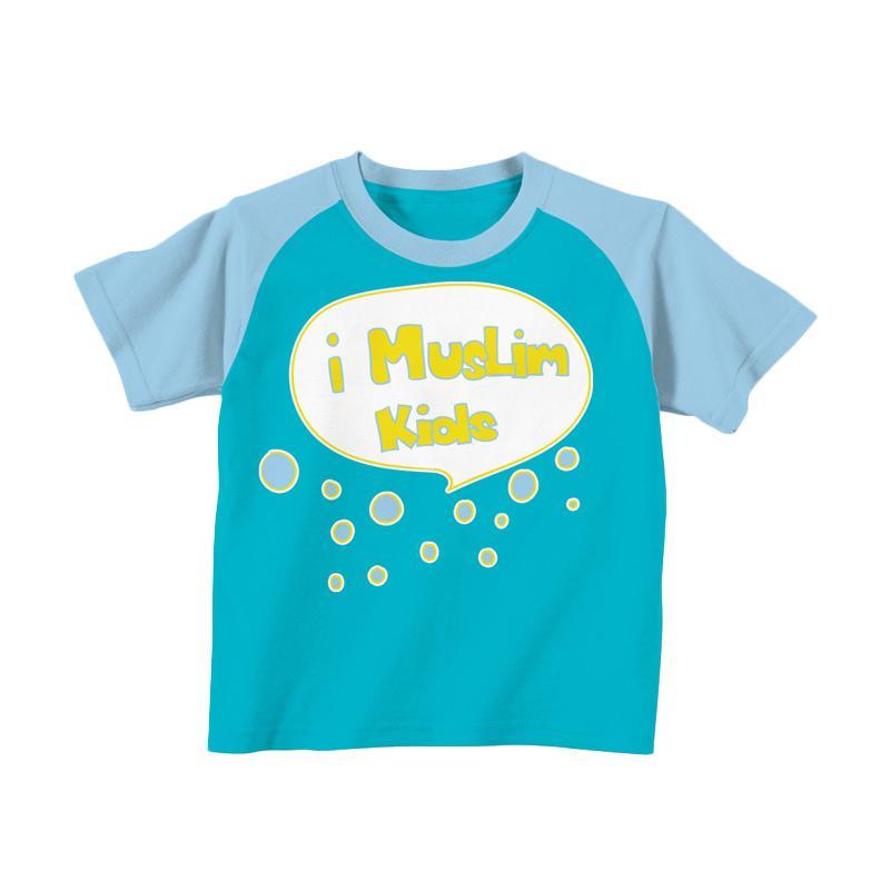 Aitana AiK-16-007 iMuslim Kids Kaos Muslim Anak Laki Laki - Turkis