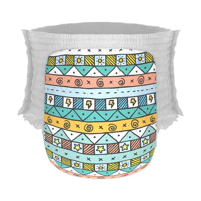 Happy Diapers Pant Popok Bayi - Sunny Tribal [Xl/ 22 pcs/A05]